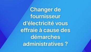 Étapes pour changer de fournisseur d'électricité