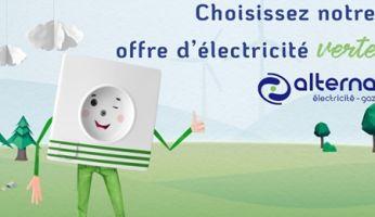 Contrat électricité verte Alterna - Partenaire d'Energie Pays Toy